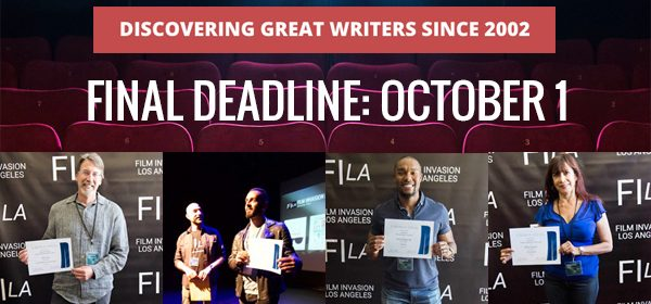 Deadline Sunday, October 1